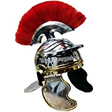 QUALITYMUSICSHOP Roman Centurion Helmet Roman Legionary Helmet Roman Helmet Gift Item.