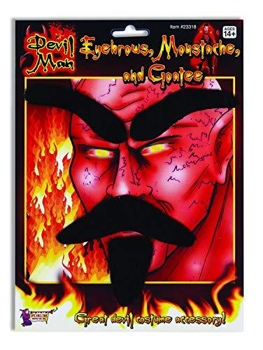 Forum Novelties Devil Man Facial Hair Kit]()