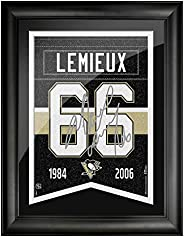 Pittsburgh Penguins 12x16 Lemieux Framed Player Number with Replica Autograph