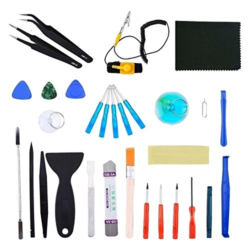 TOOGOO 31 pcs Universal Screen Removal Professional Opening
