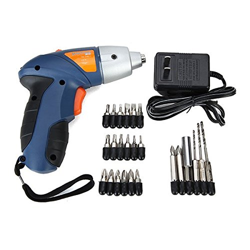 Repair Tool Set,Wellmon 4.8V Rechargeable Electric Screwdriver Cordless Drill Oscillating Tool Saw ()