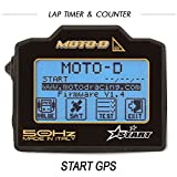 MOTO-D START Motorcycle GPS Lap Timer (50HZ)