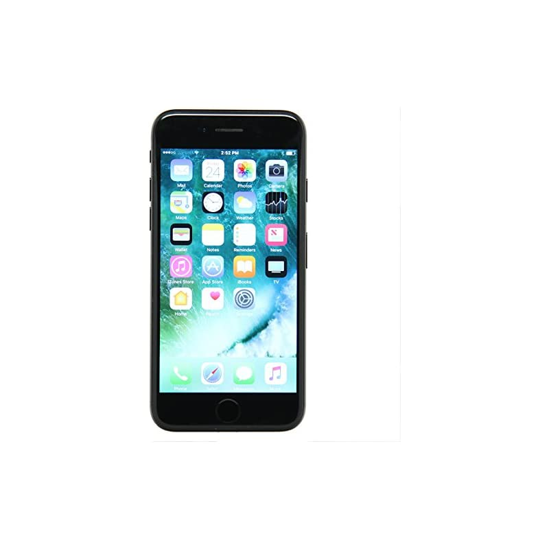 Apple iPhone 7, GSM Unlocked, 32GB - Jet