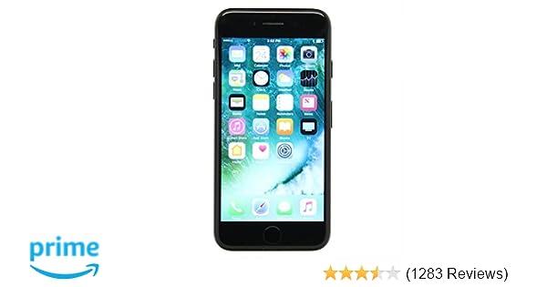 pretty nice e155b ac394 Apple iPhone 7, GSM Unlocked, 32GB - Black (Renewed)