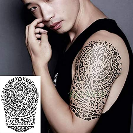 Yyoutop Etiqueta engomada del Tatuaje Temporal Impermeable Banda ...