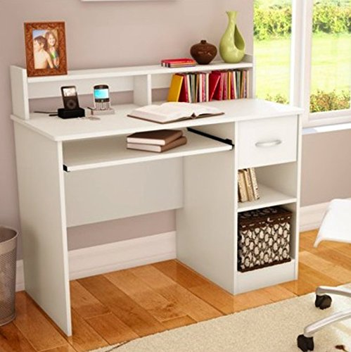 Amazon Com South Shore Study Table Desk Furniture White Toys Games