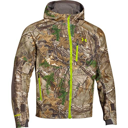 Windstopper Jacket Tex Gore - Under Armour Gore-Tex Windstopper Jacket - Men's Realtree Ap Xtra / Velocity Large