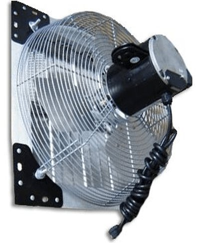 VES Variable Speed 24 Inch Wall Exhaust Fan With Automatic Shutters & Cord 5625 CFM SFV24C