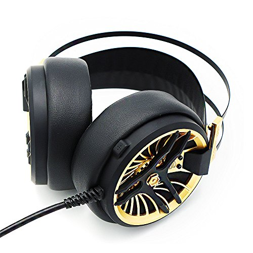 51kKxsyJqcL - MarkFive-MK3-High-Quality-Light-and-Comfortable-Gaming-Stereo-Headset-Hi-Fi-Gaming-Over-ear-Headphones-Black-Gold-Color-with-Internal-Mic-for-PC-Labtop-Xbox-PS4
