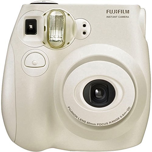 Fujifilm Instax MINI 7s White Instant Film Camera (Certified Refurbished)
