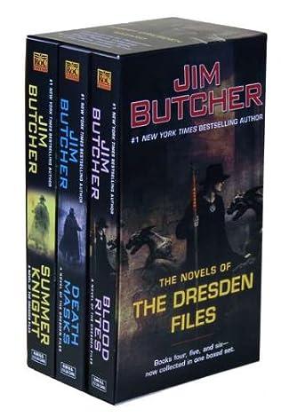 book cover of Jim Butcher Box Set 2