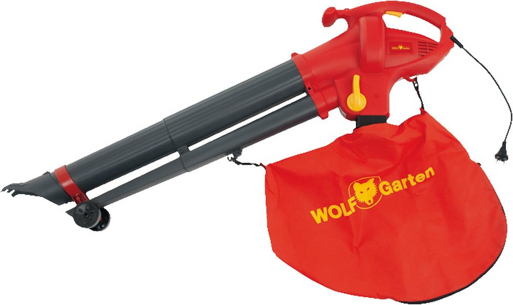 Wolf Elektro-Laubbläser Lbv 2600 E, Fangsack 50 Liter Luftgeschwindigkeit