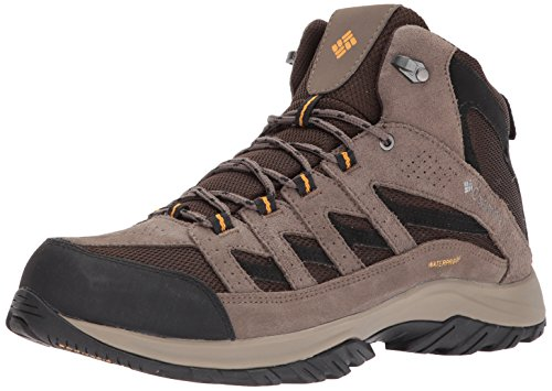 - Columbia Men's Crestwood Mid Waterproof Hiking Boot, Breathable, High-Traction Grip