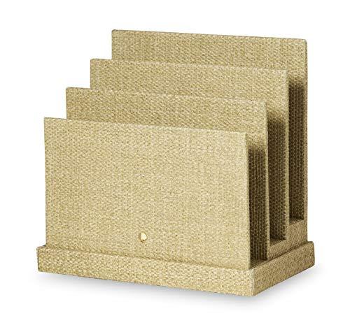 - Kate Spade New York Office Supplies Desk Organizers, Grasscloth (File Sorter)