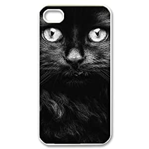 EZCASE Lovely Cat Phone Case For Iphone 4/4s [Pattern-1]