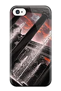 Fashion Tpu Case For Iphone 4/4s- Artistic Defender Case Cover