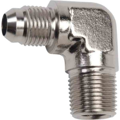 Russell 45 Degree Flare - Russell -6 AN 1/8in. NPT 45 Degree Flare to Pipe Adapter - Endura R60101