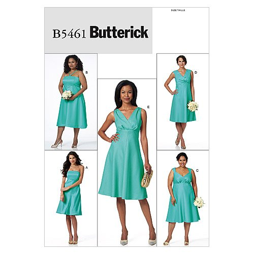 Amazon Butterick Patterns B40 Misses'Women's Dress Size RR Delectable Women's Clothing Patterns