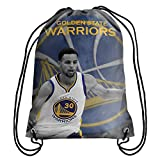 NBA Stephen Curry Player Print Drawstring Backpack - New Product