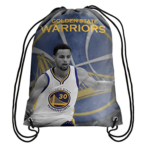 NBA Stephen Curry Player Print Drawstring Backpack - New Product by Forever Collectibles