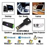 JUANWE 5 Pack 32GB USB Flash Drive USB 2.0 Metal