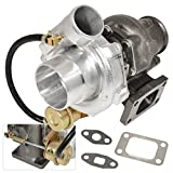"AJP Distributors Universal Performance T3 T4 To4E Hybrid Upgrade Turbo Charger 2.5"" Vband V-Band"
