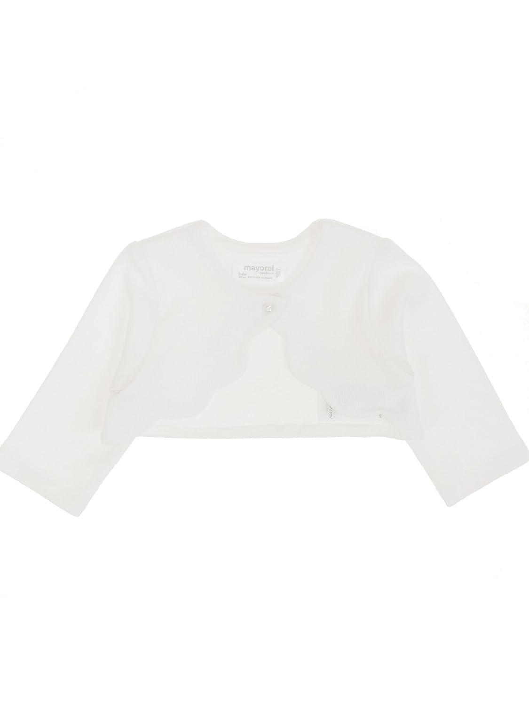 Mayoral Cardigan for Baby-Girls White 1402
