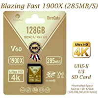 Amplim 128GB UHS-II SDXC SD Card Blazing Fast Read...