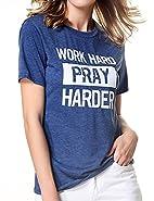 Ranessa Women Funny Saying Cute T Shirts Junior Girl Printed Cool Summer Tee Tops
