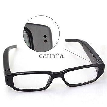 YLOVOW Gafas espía de Video HD 1080P con cámara Oculta para Deportes, 5 megapíxeles Cámara