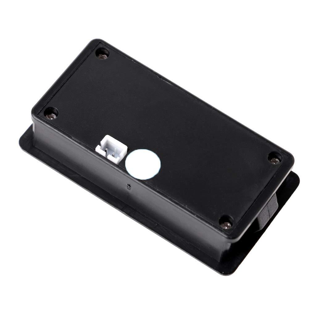 FangWWW Voltm/ètre de batterie 12 V//24 V//36 V//48 V LCD acide plomb batterie au lithium voltm/ètre tension /électrique moto scooter