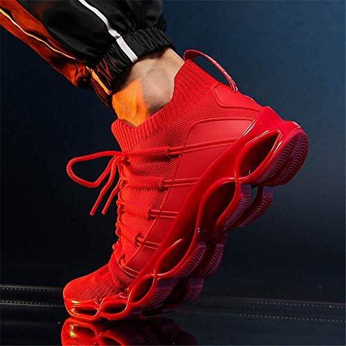 男性用シューズ、新しいブレードシューズファッション通気性ジョギングシューズ快適な男性用スポーツシューズカジュアルジョギングシューズ