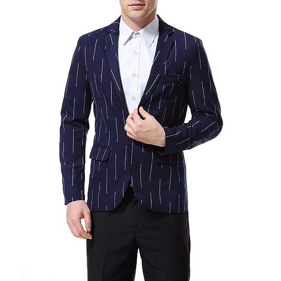 Battercake Blazer Slim Fit Blazer Blazer De Ocio para Hombre Chaquetas Spring Autumn Chaquetas Cómodo De Traje Casual para Hombre: Amazon.es: Ropa y ...