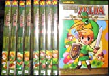 The Legend of Zelda Manga Graphic Novel Set (Ocarina of Time 1,2. majora's mask. oracle of seasons. oracle of ages. four swords 1,2. minish cap. A link to the past., volumes 01 - 09)