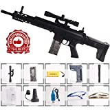 Anstoy Rifle Gel Ball Blaster Water Gun, Electric Gel Ball Shooters with 7-8mm Ammo for Outdoor & Birthday Gift,Next Generation Toy Gun
