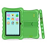 YUNTAB Q88H Kids Edition Tablet, 7'' Display, 8 GB, WiFi, Bluetooth, Kids Software Pre-Installed, Premium Parent Control , Educational Game Apps (GREEN)