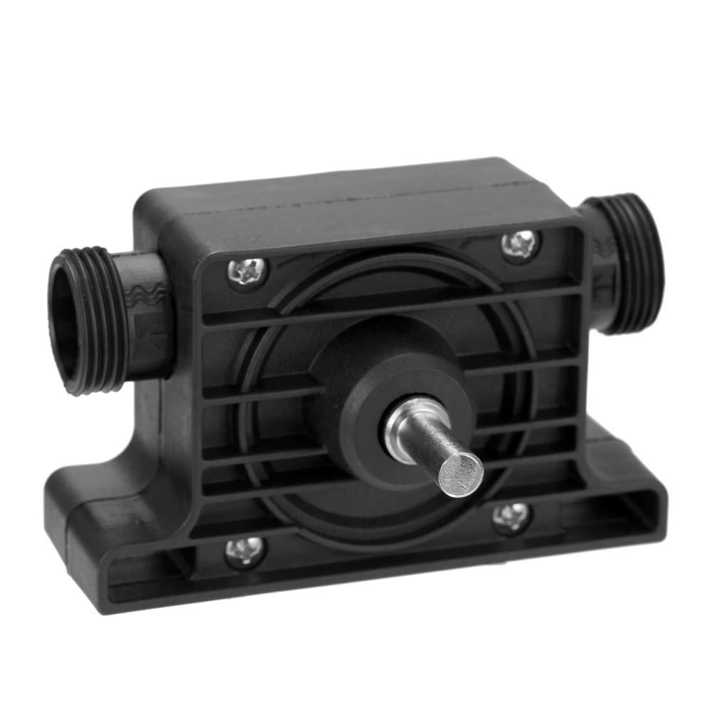 Pompes de Transfert /à Amor/çage Automatique Pompe /à Eau pour Huile Fluide KKmoon Pompe Portable de Perceuse /Électrique