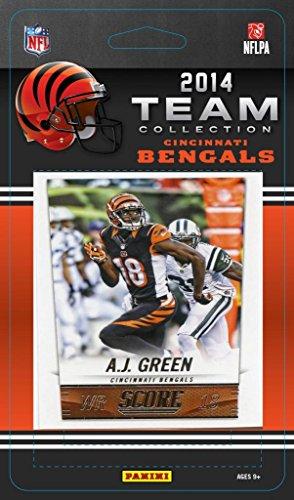Card Cincinnati Bengals - Cincinnati Bengals 2014 Score NFL Football Factory Sealed 13 Card Team Set with Andy Dalton, Green, Giovani Bernard, Mccarron Plus