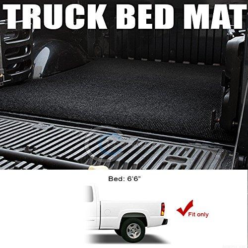 autobotusaブラックトラックベッドカーゴボックストランクフロアラグマットカーペット99 – 07シルバラード/ 6.5 Ft B07B8C91X2