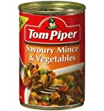 Tom Piper Savoury Mince and Vegetable Can Food 400 g, 400 g