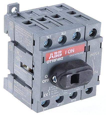 Abb-entrelec ot40ft4n2 Interruptor secci/ónador 4 Polos 40a 40//23a//a