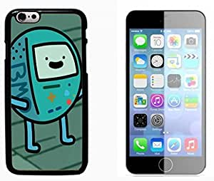Beemo Adventure Time Hard Plastic and Aluminum Back Case FOR Apple iPhone 6 6G 4.7