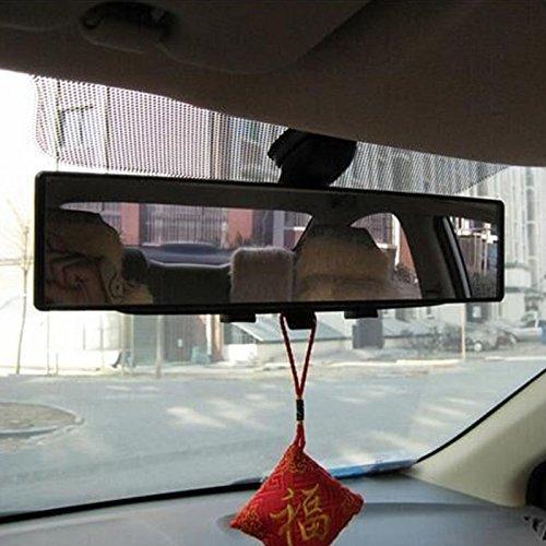 kkone Car 300mm 12 Wide Curve Convex Clip On Rear View Mirror For Car SUV Van Truck