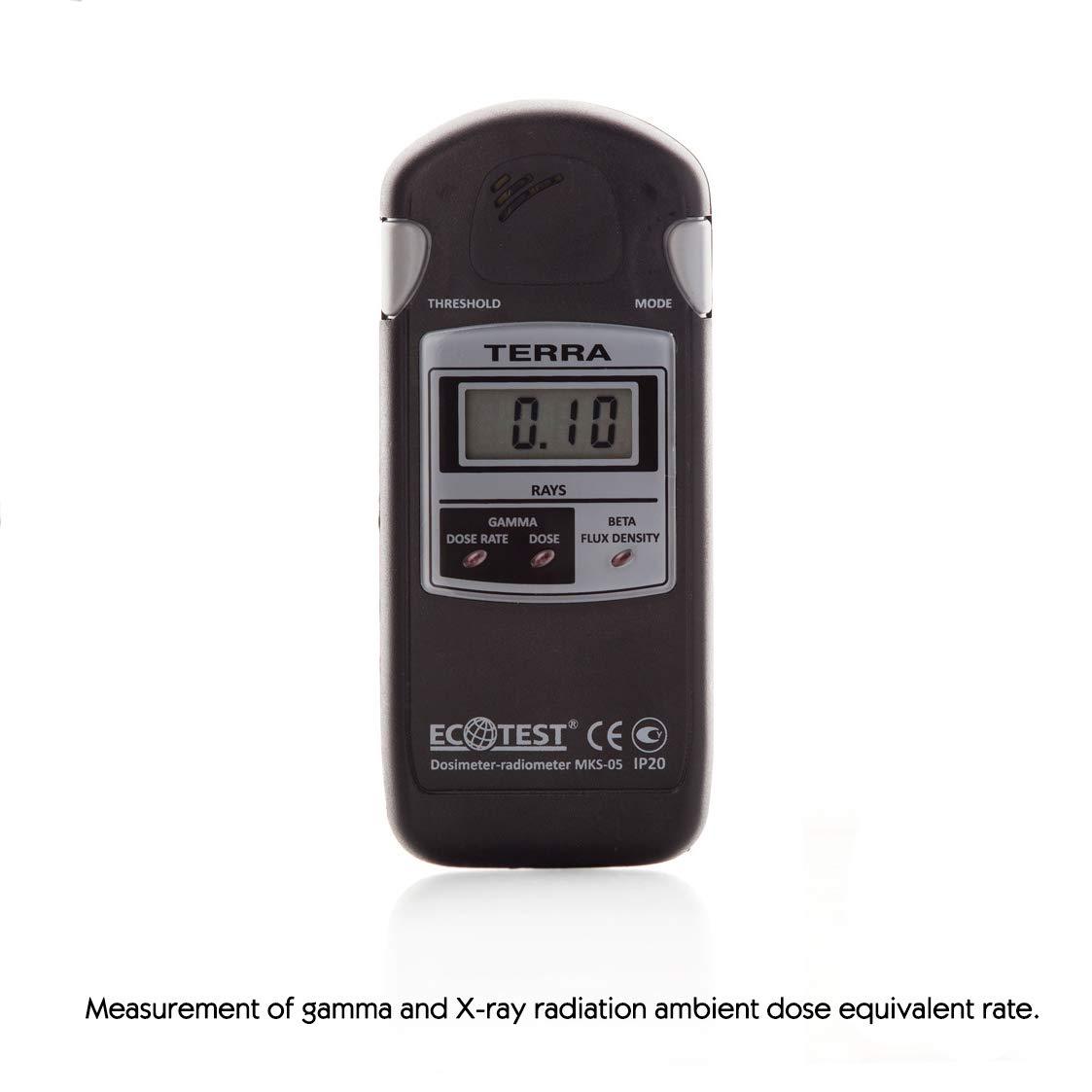 Dosimeter-Radiometer МКS-05, Terra, Detector Radiation, Geiger Counter, PDF-Instruction of use: Amazon.com: Industrial & Scientific