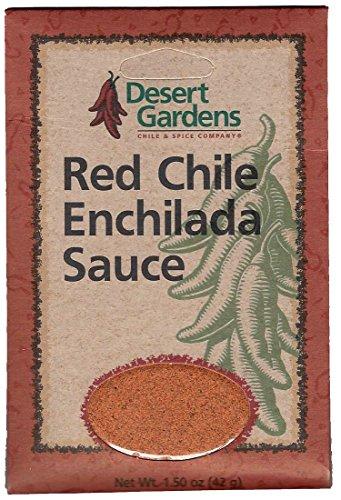 Desert Gardens Red Chile Enchilada Sauce Mix (Pack of 4)