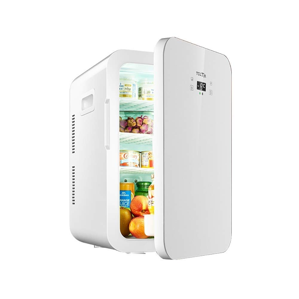WJSW 22L Mini refrigerador del automóvil Pantalla Digital Control ...
