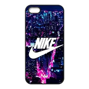The logo of Nike for Apple iPhone 5/5S Black Case Hardcore-1 by supermalls