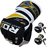 RDX MMA Gloves Gel Grappling Gloves UFC Cage Fighting Sparring Inner Glove Training X5