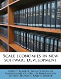 Scale Economies in New Software Development, Chris F. Kemerer, 1245632337