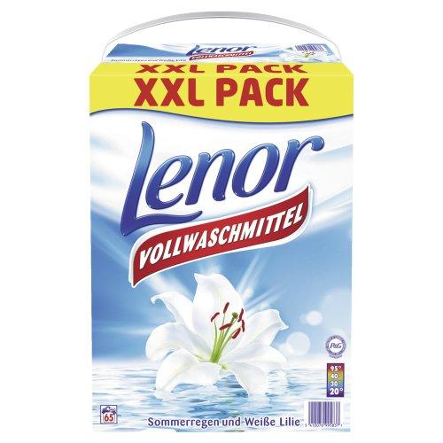Lenor Waschmittel Pulver Weisse Lilie - 65WL, 1er Pack (1 x 5.2 kg)